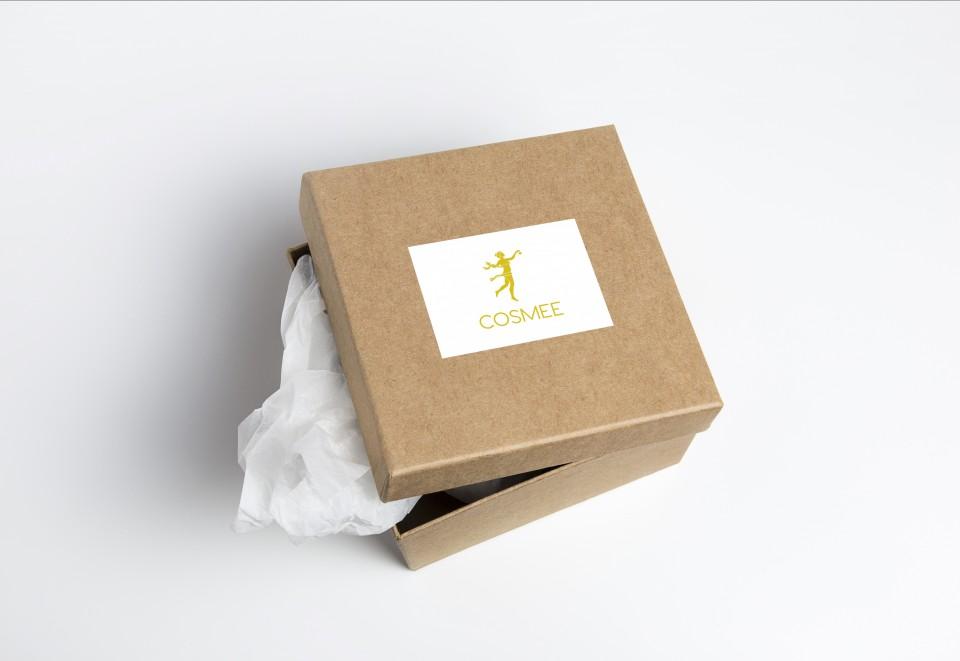 Cosmee box guld